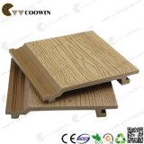 나무 플라스틱 합성 반대로 UV 벽면 판자벽