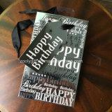 Saco por atacado da embalagem do presente do papel do aniversário da impressão