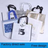 Приняты хозяйственная сумка PP Non сплетенная, подгонянные конструкции и размеры