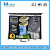 Compteur de débit ultrasonique portatif tenu dans la main
