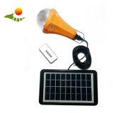 Lumière campante 3W de d'éclairage de haute énergie de système de nécessaire solaire portatif solaire à la maison solaire d'Enegery