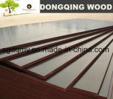 madera contrachapada Shuttering de 12m m para el concreto del encofrado