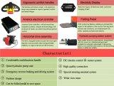 Halb-Elektrischer Ladeplatten-LKW-elektrischer Ablagefach-Batterie-Gabelstapler 1.2t 1.5m