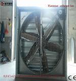 Ventilateur de refroidissement installé de mur de Ventailation pour la Chambre de volaille