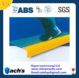 Отличная цена на заводе прямые поставки изделий из стекловолокна FRP GRP Установите противоскользящие лестницы Nosings передается ЭБУ АБС и сертификации SGS проверки