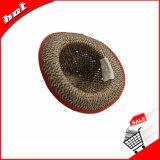 O Rush Chapéu de Palha Chapéu de Palha Oco Chapéu de Palha Chapéu Fedora Hat