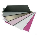 4*0.5mm 파손되지 않는 PVDF 알루미늄 합성 위원회 옥외 정면 장식적인 벽면