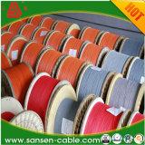 Кабель низкого напряжения тока изоляции PVC автоматический, твердый одиночный провод