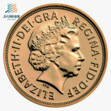 記念品のためのカスタム3D金の金属の挑戦円形浮彫りの硬貨