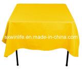 Polyester capot table carrée (WLTC020)