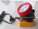 Kl2.5lm 충전기를 가진 코드가 없는 광부 Headlamp
