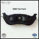 Ford Explorer 차 부속을%s 반 금속 뒷 브레이크 패드 (D881)