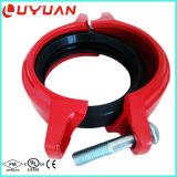 Accoppiamento Grooved del tubo del ferro duttile di alta qualità per il sistema di protezione dello spruzzatore del fuoco