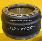 工場販売OEM 642213502070の頑丈なトラックのブレーキドラム