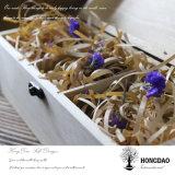 Boîte en bois, Hongdao Boîte en bois de pin avec logo gravé personnalisé