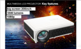 High Definition 4:3 /16: 9 Movie Portable Home Office LED 3D Projector