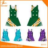 Pannelli esterni dei vestiti dalle uniformi del Netball della squadra di donne di sublimazione di Healong