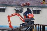 Mini excavador del lobo 800kg con nuevo precio en 2017