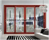 Porte coulissante, porte en verre coulissante de porte coulissante en bois