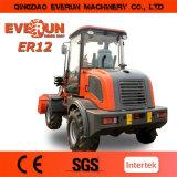 Everun Brand Agricultural Wheel Loader Er12 mit Snow Bucket