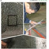 Puerta grabada al agua fuerte ácida de la ducha del vidrio Tempered de la alta calidad 12m m Frameless