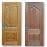 Piel de madera Lowes de la puerta de la chapa HDF de la fabricación de Hooletimber
