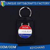 Porte-clés en cuir design vintage pour porte-clés en souvenir Porte-clés