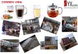чайник теплостойкmGs цветка боросиликатного стекла 500ml зацветая/стеклянный создатель чая/стеклянный чайник чая