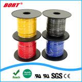 La Chine fournisseur recouvert de PTFE Fil électrique pour la voiture, RoHS, éclairage LED, câble audio, Câble de guitare, le faisceau de fils de l'automobile