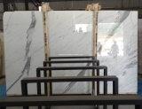 중국 눈 Statuario 회색 Vien를 가진 백색 대리석 슬래브 바닥 도와