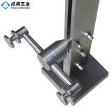 Barandilla de aluminio de cristal del perfil de Frameless del surtidor de China para la alameda