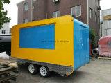 De nieuwe Aankomst Rond gemaakte Aanhangwagen van het Voedsel van de Hoek Mobiele