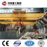 Viaggio ambientale QZ della benna idraulica di modello standard della gru a benna di FEM/ISO/gru a ponte per il trattamento del materiale alla rinfusa con il certificato di CE/SGS