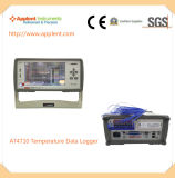 Registratore della termocoppia per il laboratorio ed il banco internazionali (AT4710)