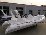 Liya 20ft steifes Rumpf-aufblasbares Boots-Gummibewegungsboots-Rettungsboot