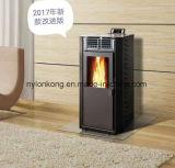 Camino Burning di /Wood della fiamma di Fresstanding della pallina del riscaldatore di legno intelligente reale della stufa con telecomando