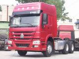 Sinotruck 371HP 6X4 10の車輪の頑丈なトラクターのトラック