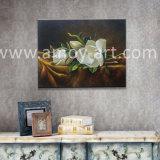 壁の装飾の芸術家の研修会からのハンドメイドの油絵のための伸ばされたキャンバスの花の芸術直接