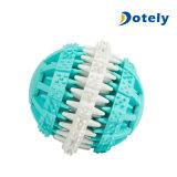 Juguete dental de goma no tóxico interactivo de la limpieza del diente del convite del índice de inteligencia