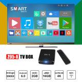 De heetste Doos van TV WiFi Androïde 6.0 van Amlogic S905X Dubbele 4K Slimme