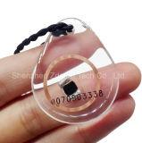 ABS programmable Keyfob de trousseau de clés d'IDENTIFICATION RF de 125kHz Em4200/Tk4100/T5577
