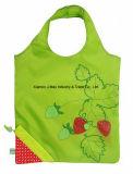 Bolso plegable del comprador, estilo de la fresa de las frutas, reutilizable, regalos