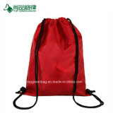 学校のスポーツの体操袋袋のバックパックのドローストリング袋