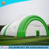 مزدوجة [بفك] قابل للنفخ كبيرة رياضة كرة مضرب خيمة قابل للنفخ محكمة خيمة ([ل-ت33])