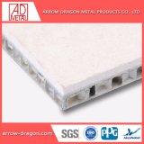 Incombustible Anti-Seismic de mármol de chapa de piedra en forma de panal de aluminio paneles para la columna el revestimiento de cubierta de la columna/.