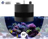 Une lumière plus profonde d'aquarium de l'eau de mer DEL de pénétration de la forme 2017 ronde