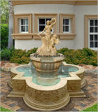 Het Gesneden Standbeeld van de steen Cijfer/Fontein van het Water van de Tuin van het Beeldhouwwerk de Marmeren in Levering voor doorverkoop