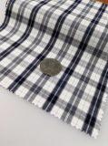 Tela listo el 100% de los hilados de algodón tejido teñido con el cheque Pattern-Lz6461r