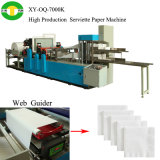 Haute vitesse serviette de papier Double Deck de replier la machine