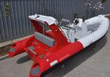 Liya 17pés melhor casco de fibra de barcos infláveis para venda